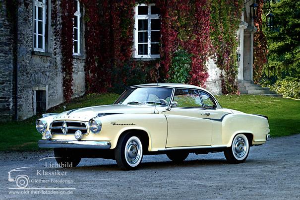 Fotos borgward isabella coupe 1961 oldtimer bilder fotogalerie